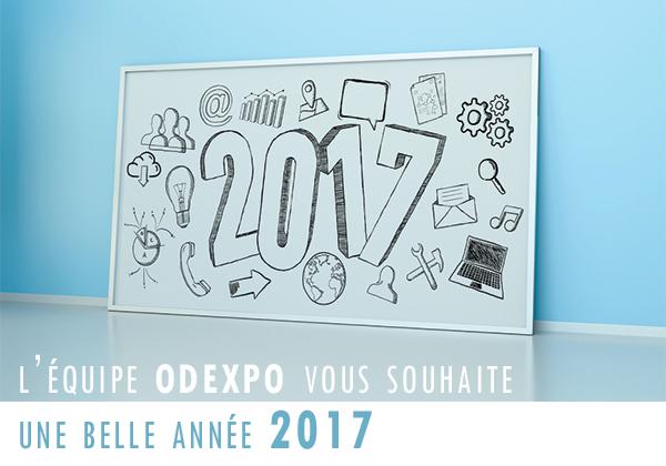 Odexpo vous souhaite une belle ann�e 2017 !
